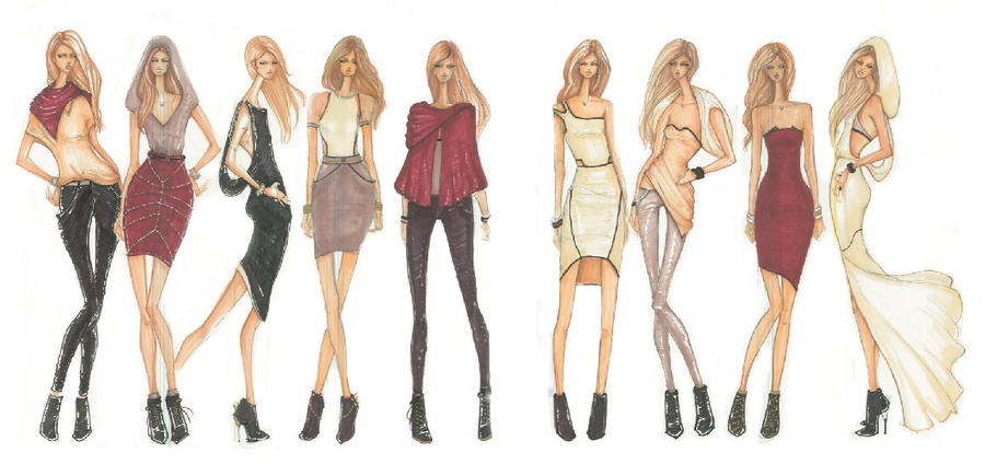 Fashion Design By Prettytoughchic On Deviantart