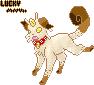 Lucky Pixel by Kitsunesprite
