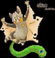 Ging pixel by Kitsunesprite