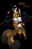 Crow pixel by Kitsunesprite