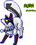 Aura pixel -CO- by Kitsunesprite