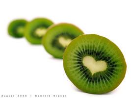 heart kiwi by dkraner