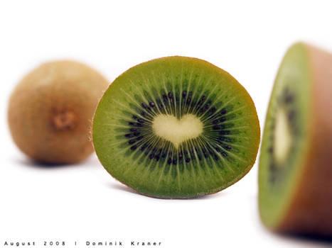 heart shaped kiwi