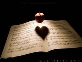 apple heart by dkraner