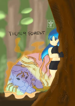[Challenge Drawing] Theme 9: Forest
