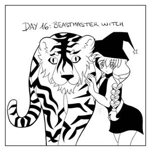 [Inktober '17] Day 16: Beastmaster Witch