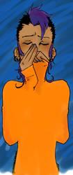 Alejandro orange by Mathgen