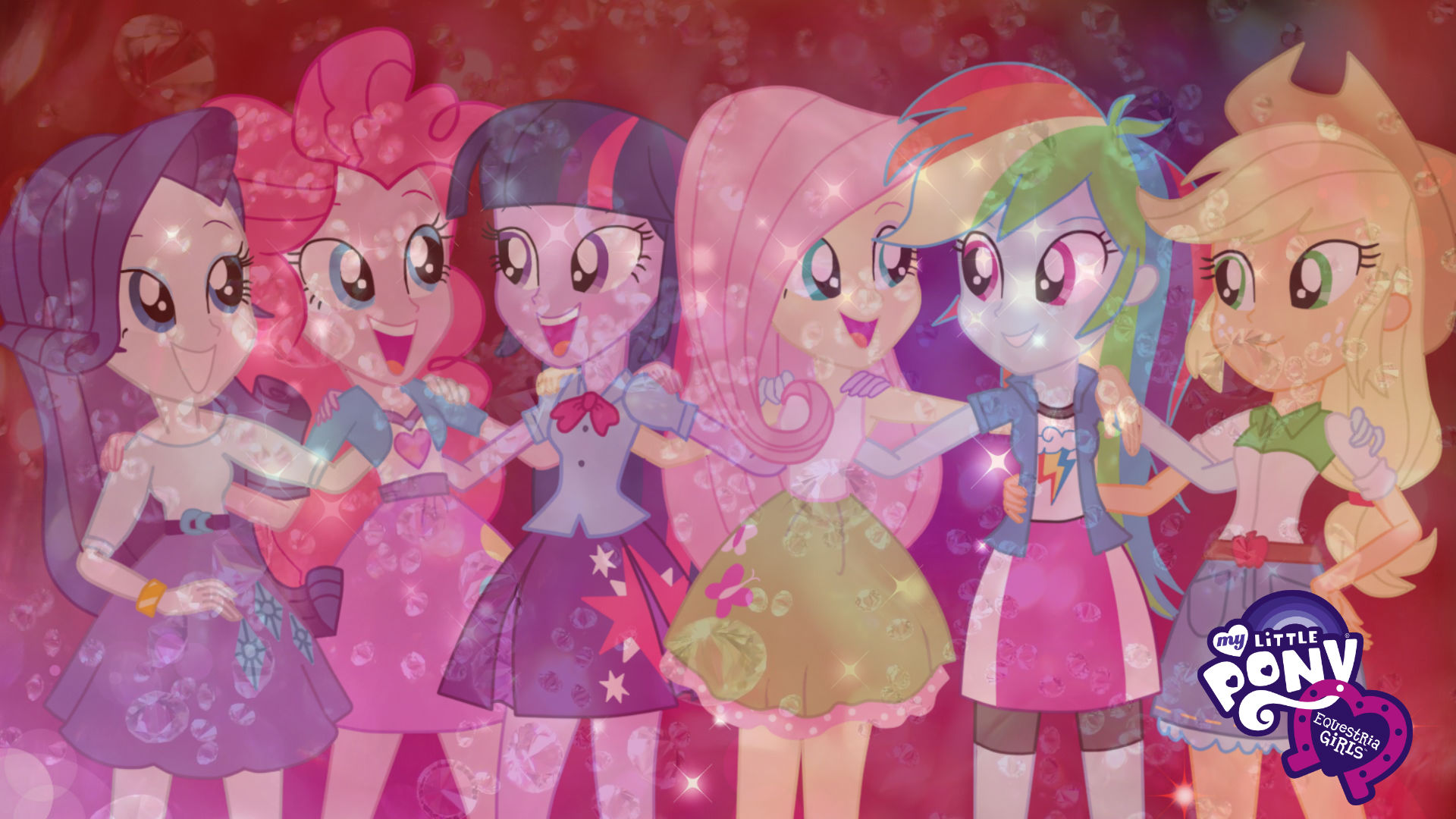 My Little Pony Equestria Girls Wallpaper By Infantry00 On Deviantart