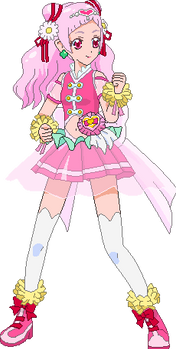 Cure Yell Fighting Style Sprite - 2020 edition