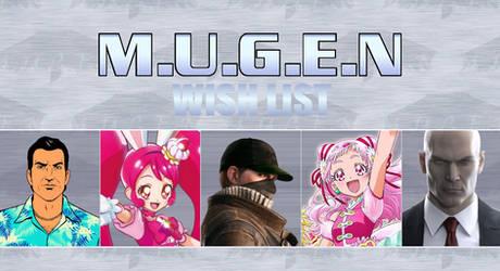Infantry00 MUGEN Wishlist