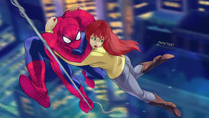 Spider-Man and MJ 1994
