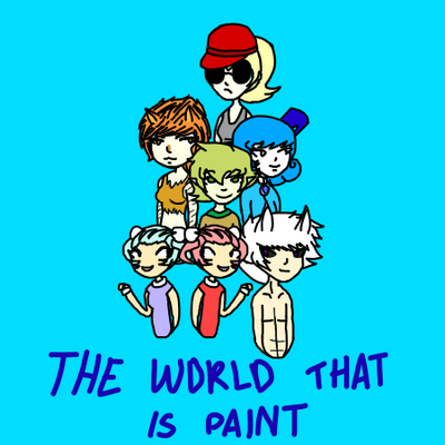 The world that is paint by Jerena