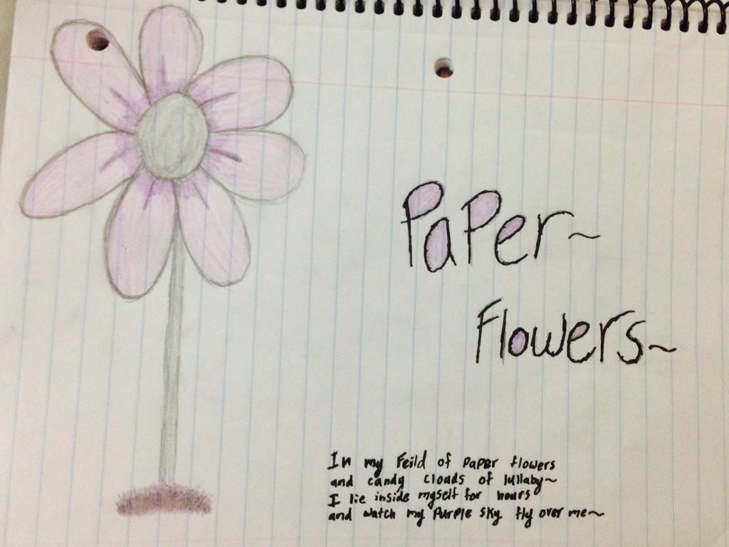Paper Flowers By Tigerstar5078 On Deviantart