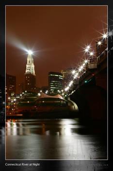 CT River at Night