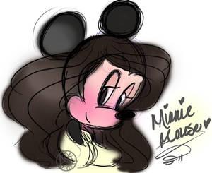 Minnie Mouse concept art