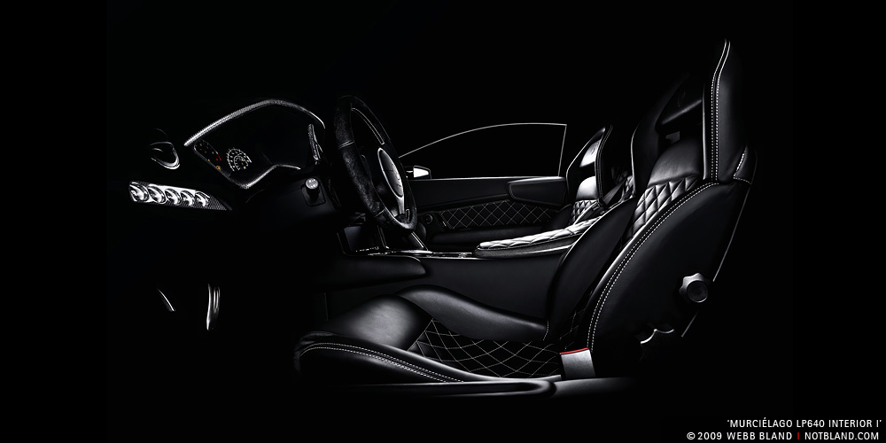 Murcielago LP640 Interior I by notbland
