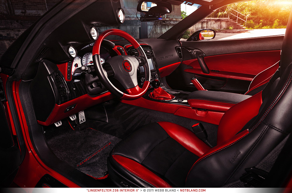 Lingenfelter Z06 Interior II by notbland