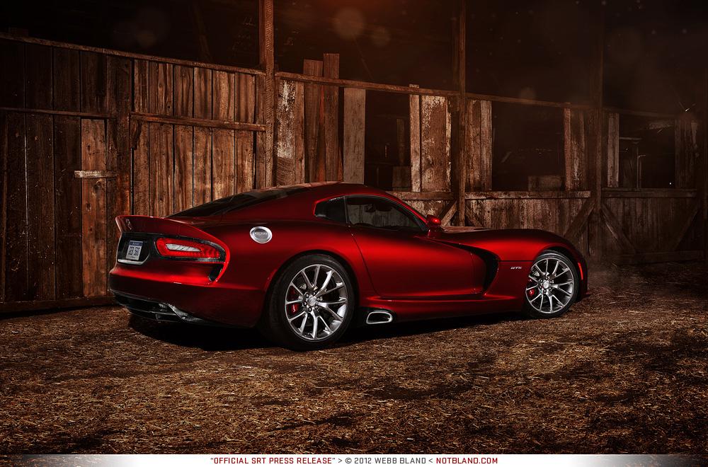 2013 SRT Viper GTS 02 - Press Kit by notbland