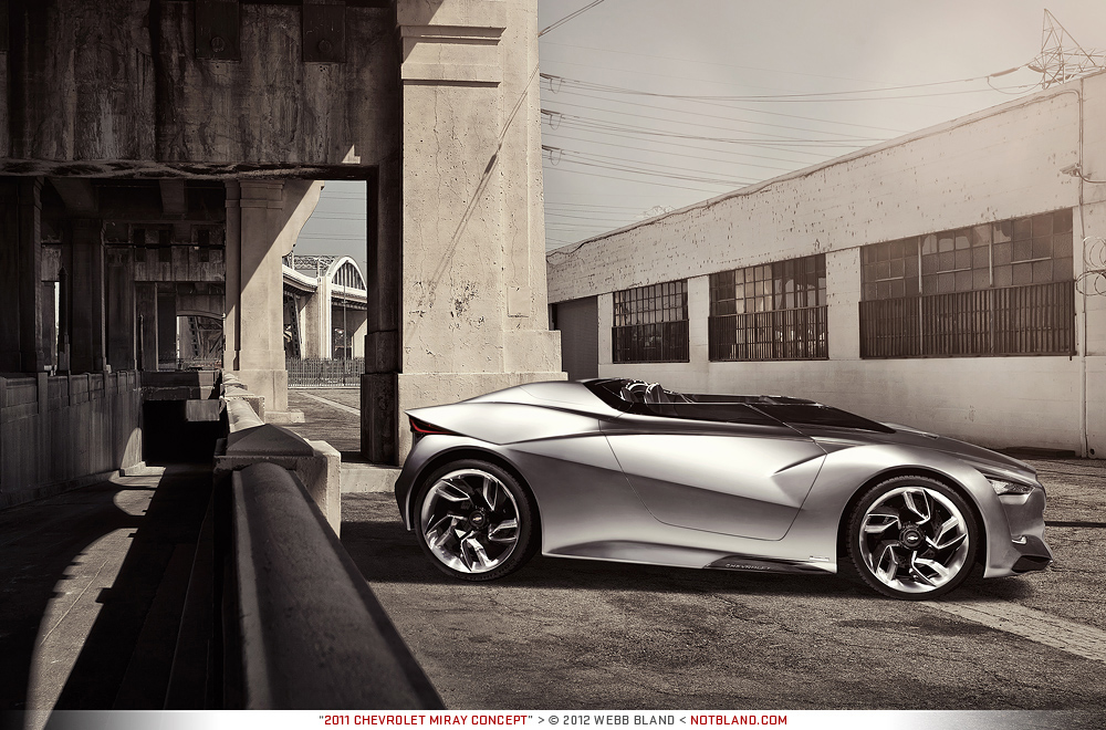 2011 Chevrolet Miray Concept by notbland