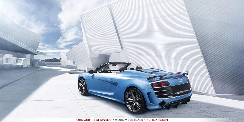 2012 Audi R8 GT Spyder by notbland