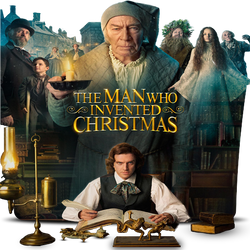 The Man Who Invented Christmas movie folder icon by DEAD-POOL213