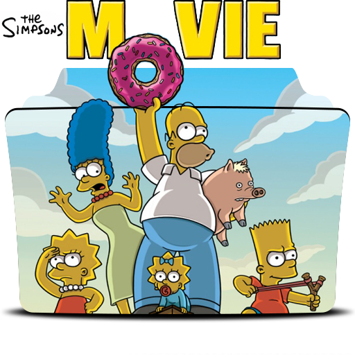 The Simpsons Movie 2007 Folder Icon By Dead Pool213 On Deviantart