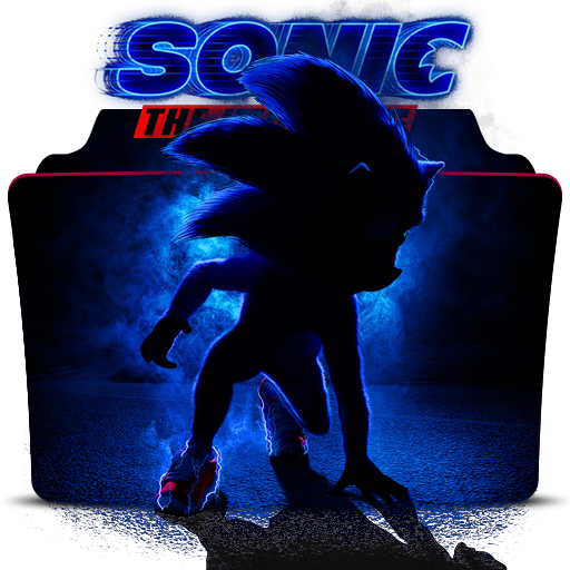 Sonic The Hedgehog 2019 Movie Folder Icon By Dead Pool213 On Deviantart