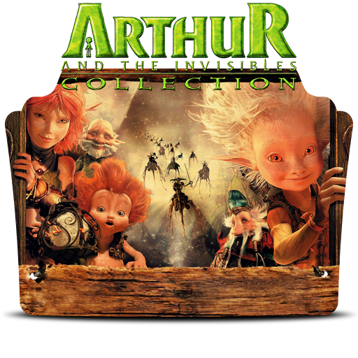 Arthur And The Invisibles Collection Folder Icon By Dead Pool213 On Deviantart