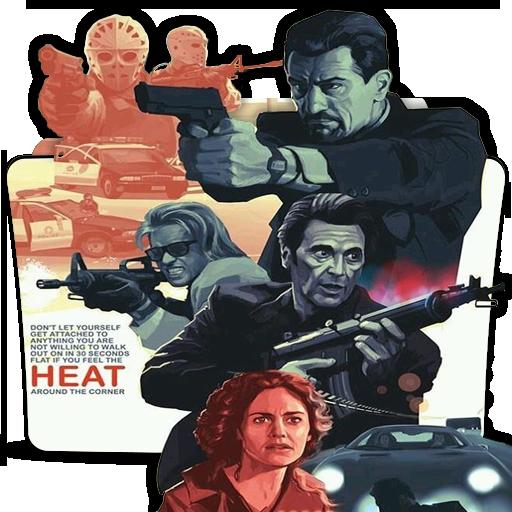 Heat 1995 Movie Folder Icon By Dead Pool213 On Deviantart