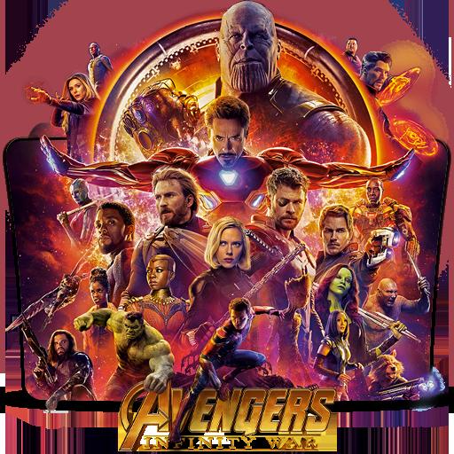 Avengers Infinity War 2018 Movie Folder Icon By Dead Pool213 On Deviantart
