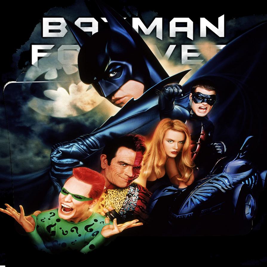 Batman Forever 1995 Movie Folder Icon By Dead Pool213 On Deviantart
