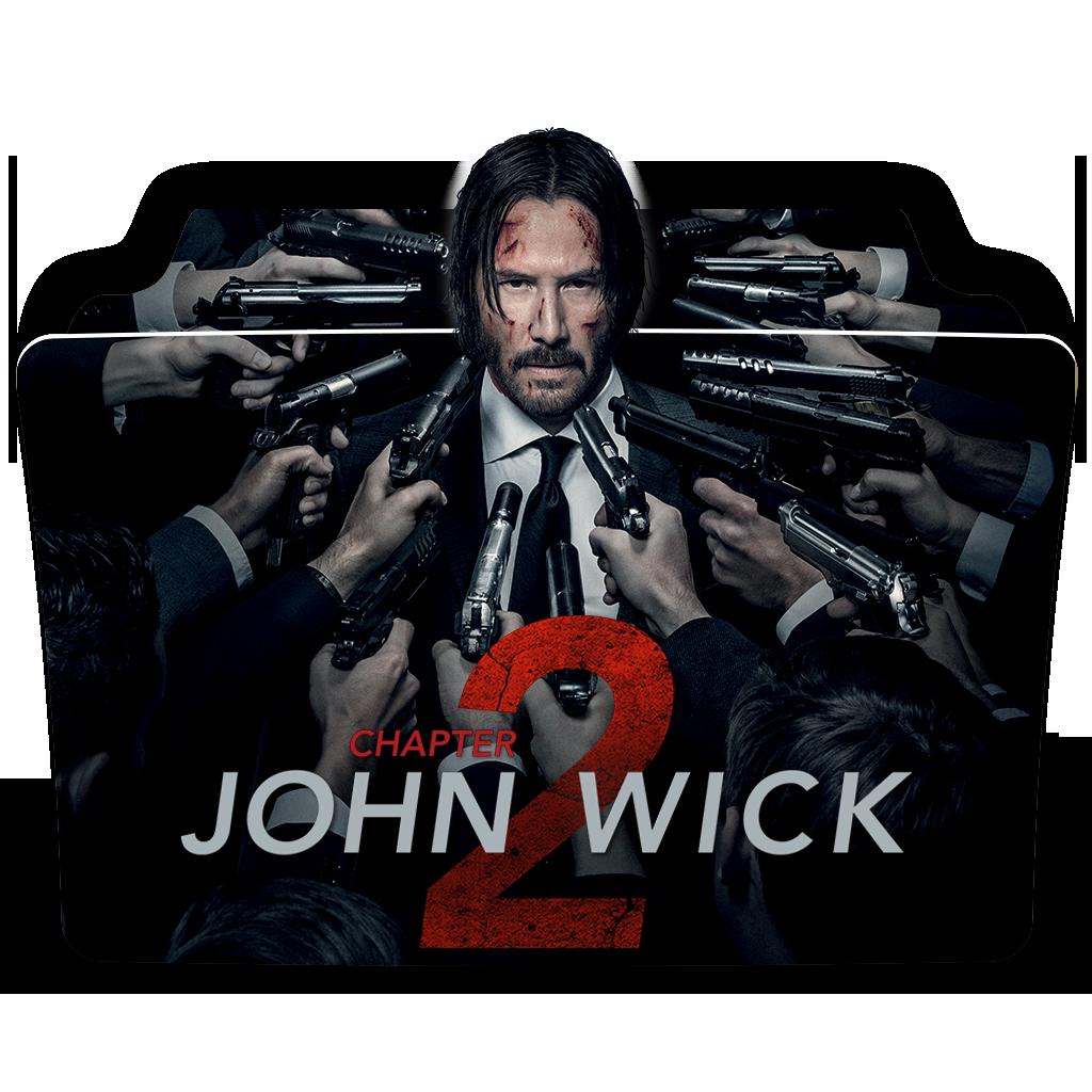 John Wick Chapter 2 2017 Movie Folder Icon By Dead Pool213 On Deviantart