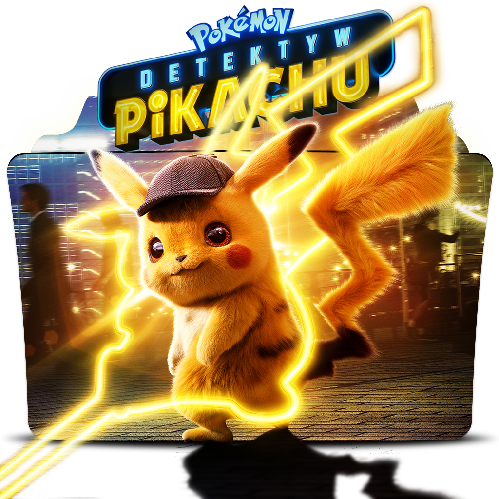Pokemon Detective Pikachu 2019 Movie Folder Icon By Dead Pool213 On Deviantart