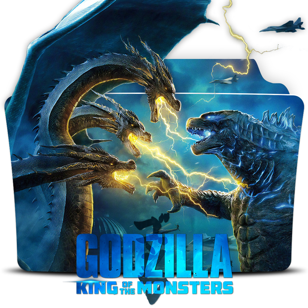 Godzilla King Of Monsters 2019 Movie Folder Icon By Dead Pool213 On Deviantart