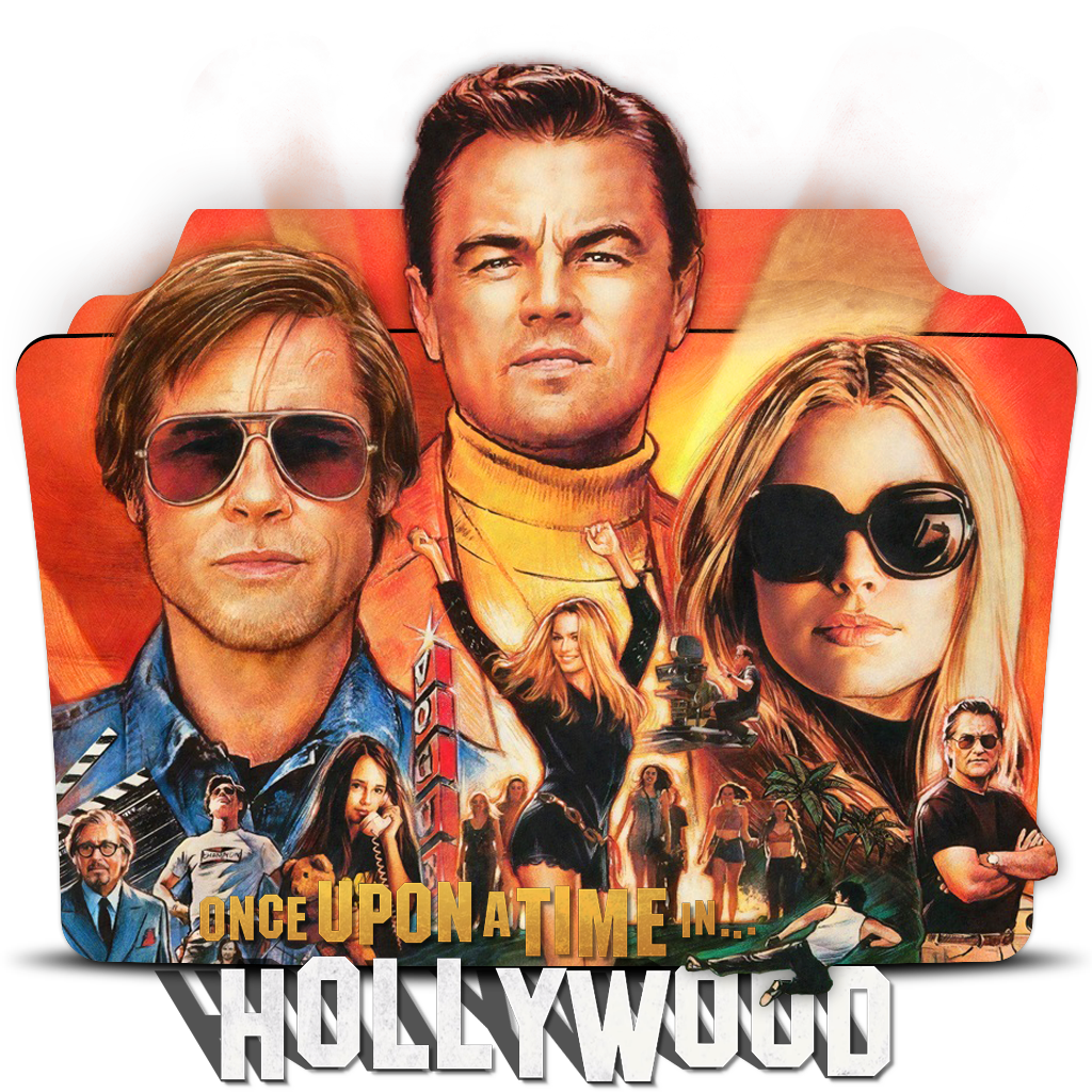 Once Upon A Time In Hollywood 2019 Folder Icon By Dead Pool213 On Deviantart