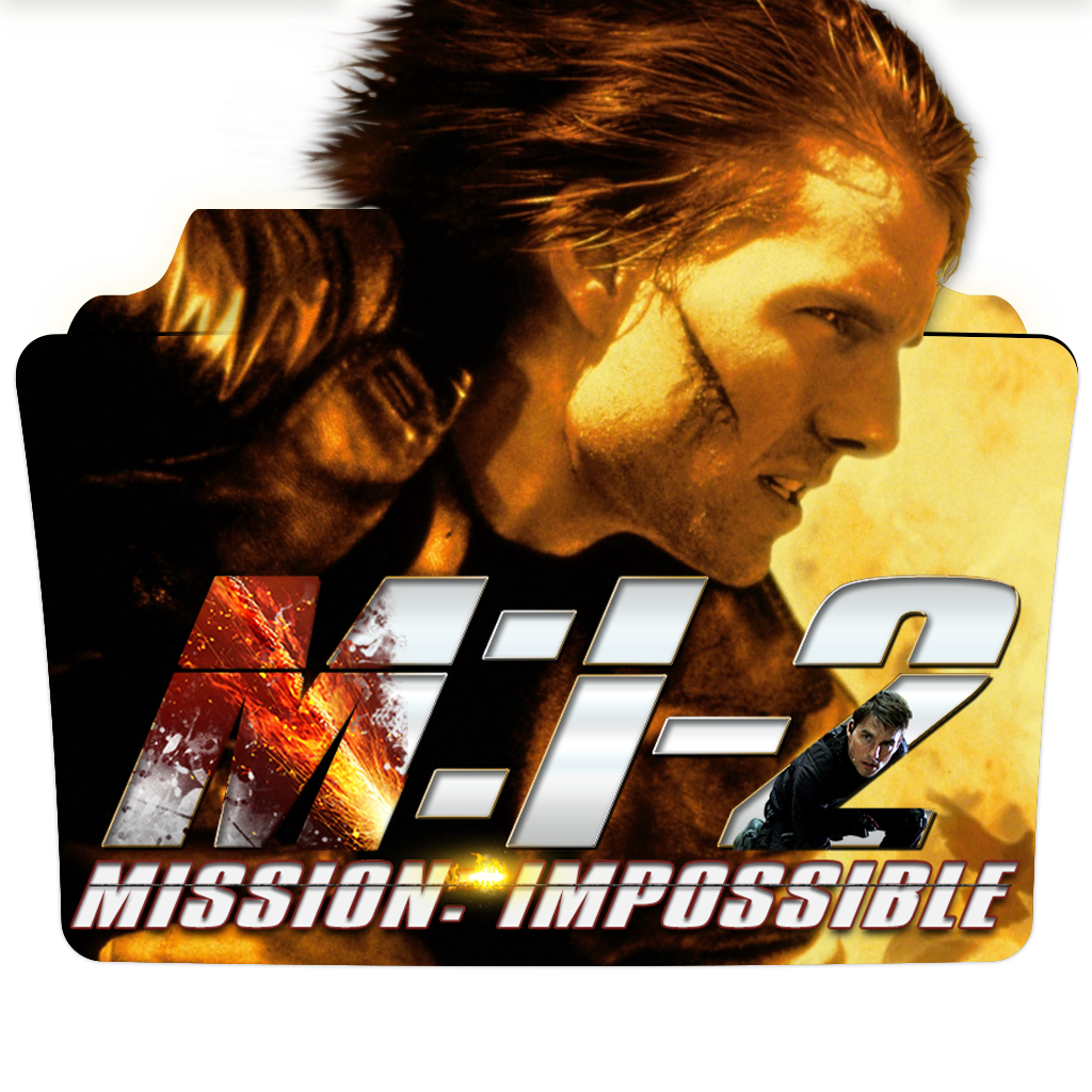 Mission Impossible 2 2000 Movie Folder Icon By Dead Pool213 On Deviantart