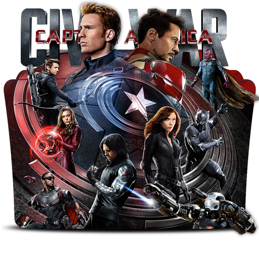 Captain America Civil War 2016 Movie Folder Icon By Dead Pool213 On Deviantart