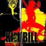 Kill Bill Vol.1 2003 movie folder icon