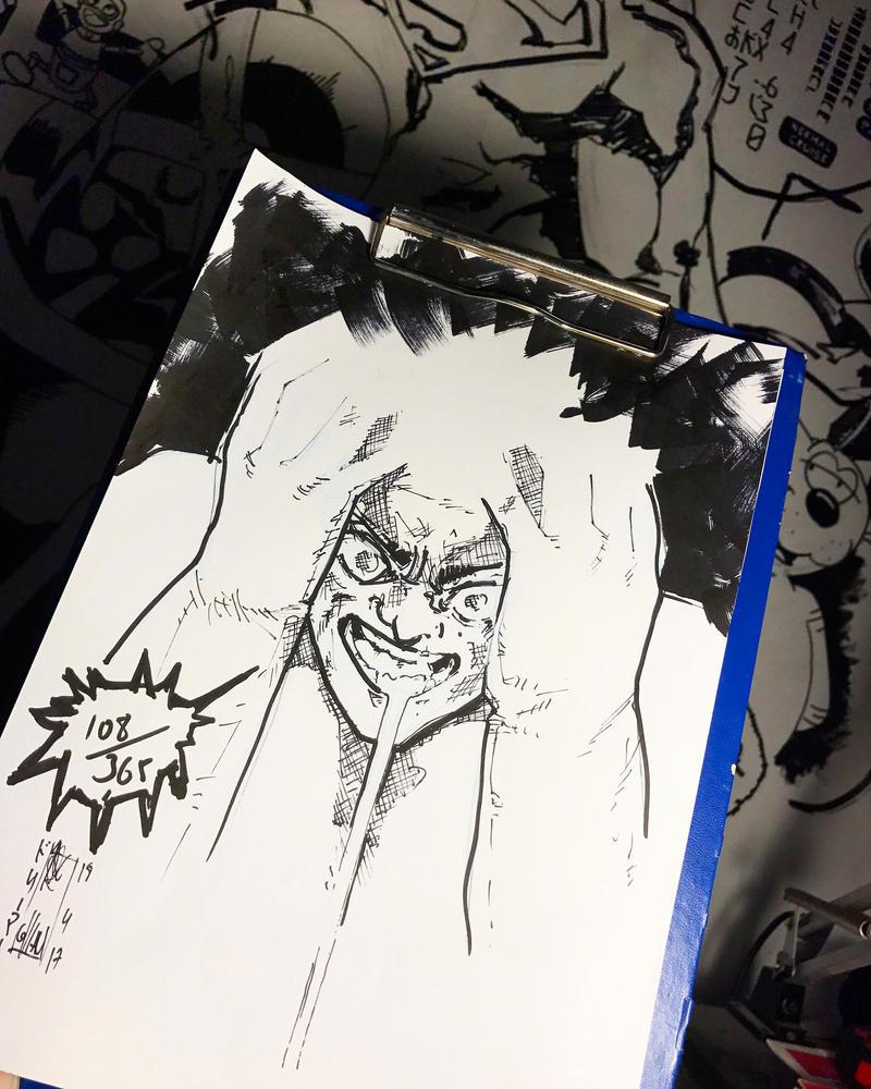 108/365 Tetsuo Shima  by Dreamer0ldb0ss
