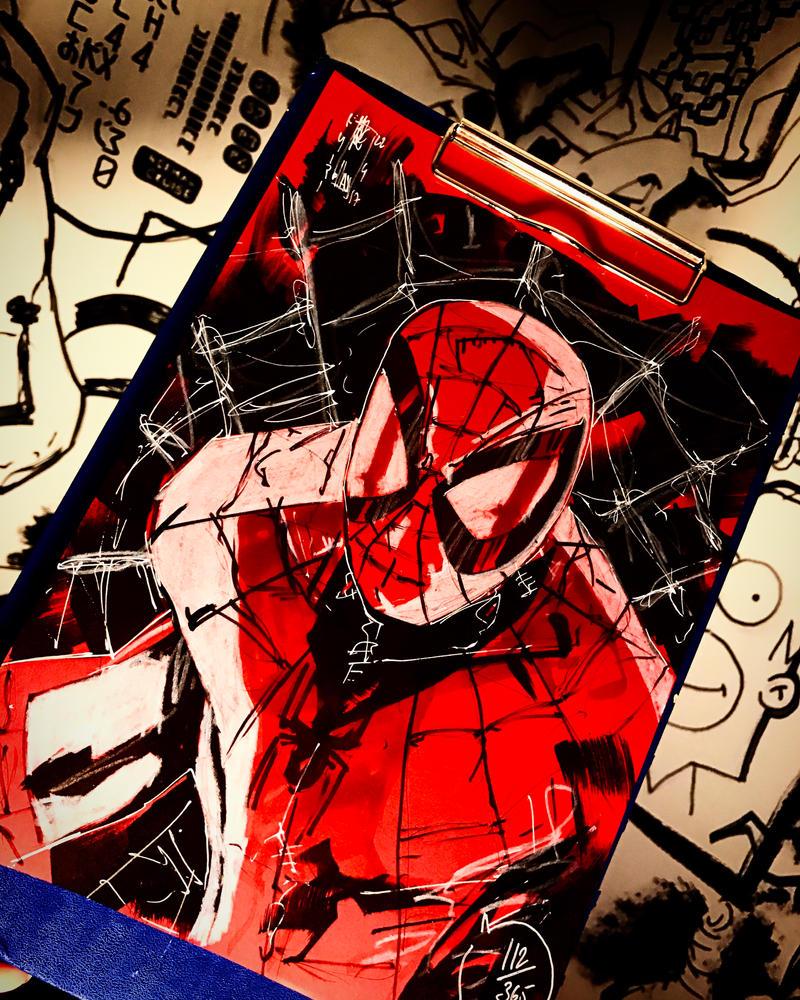 112/365 Spiderman  by Dreamer0ldb0ss
