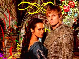 Arthur and Gwen (4) by jillcb