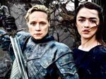 Brienne and Arya