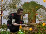 Arya in the Garden of Ruins