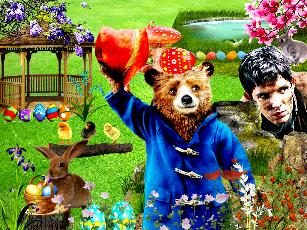 Merlin and Paddingtons Easter Holiday