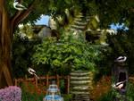 Spring Garden by jillcb