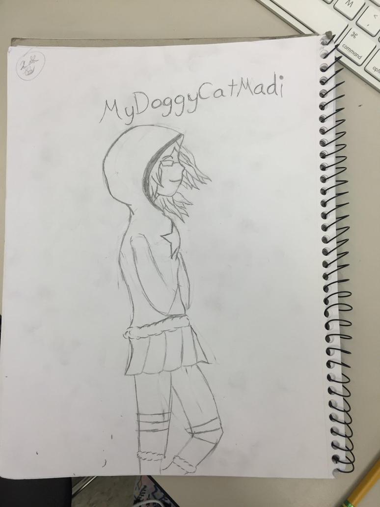DarkuriZa drew this for me! by MyDoggyCatMadi