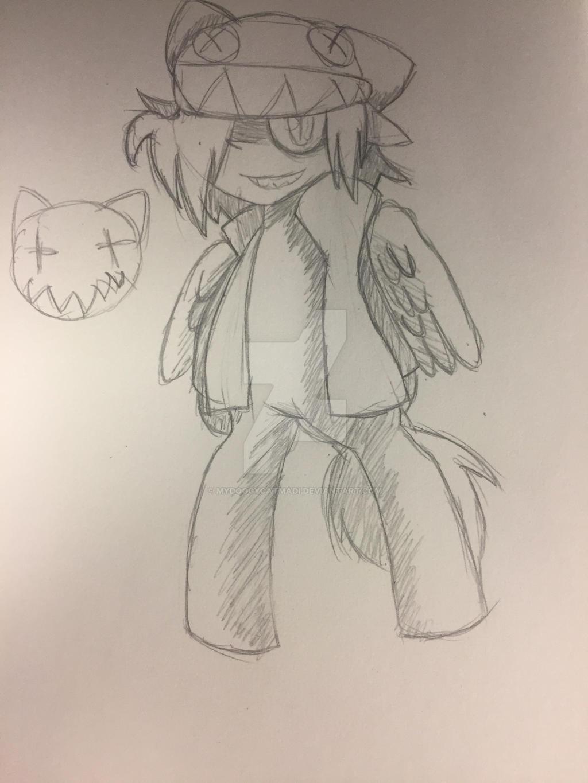 Why do I like drawing edgy Mlp Oml by MyDoggyCatMadi