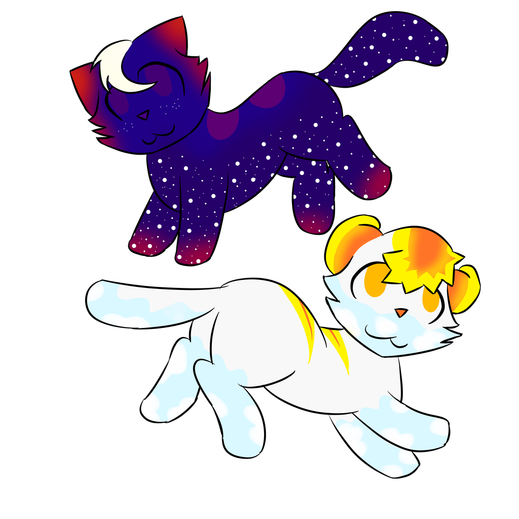 Sky Cats Adoptables [CLOSED] by MyDoggyCatMadi