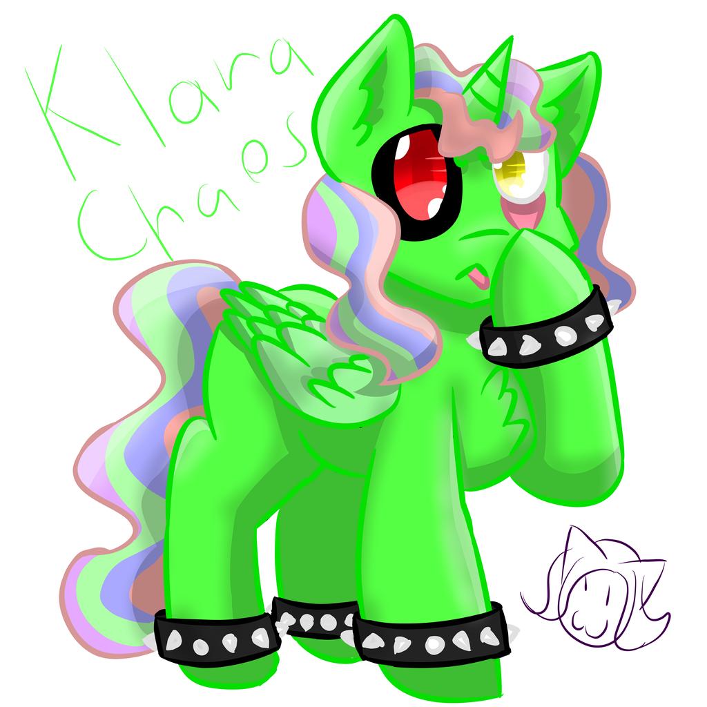 [Request] Klara Chaos by MyDoggyCatMadi