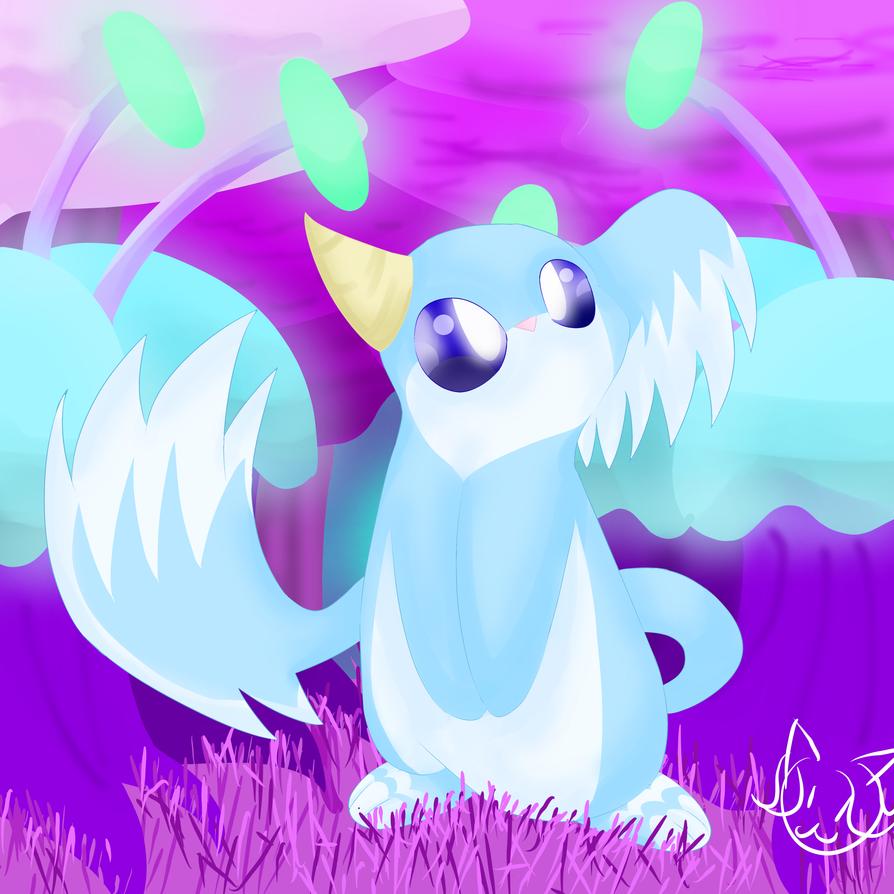 Dream Dragon Mole by MyDoggyCatMadi